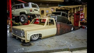 The RC Rat Rod Ramp Truck, Test Drive, Fail, Now Squarebody! The Challenge Continues