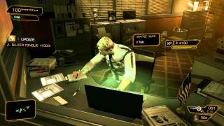 Deus Ex Human Revolution MultiPlaythrough Part 21 -Police Station Blues