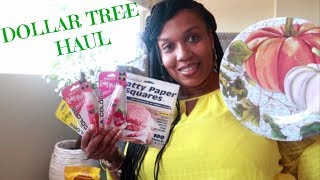 DOLLAR TREE HAUL!!! WHAT'S IN MY BAG??? /PRODUCT REVIEW  8-8-19