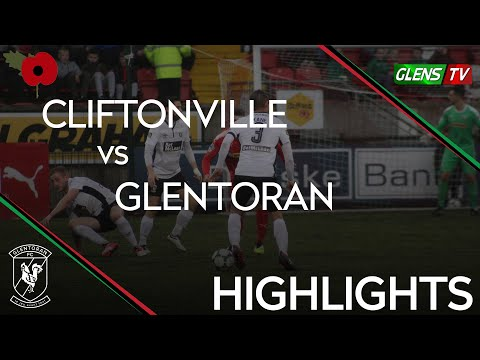 Cliftonville vs Glentoran - 3rd November 2018