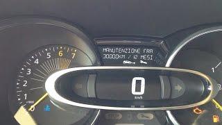 Renault New Clio - Reset Oil Light