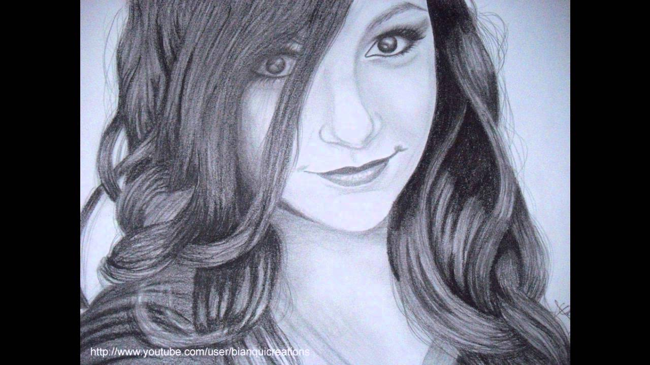3 really good drawings of macbarbie07 youtube for Good sketches to draw