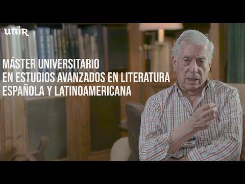 Máster Universitario En Literatura Española Y Latinoamericana I UNIR