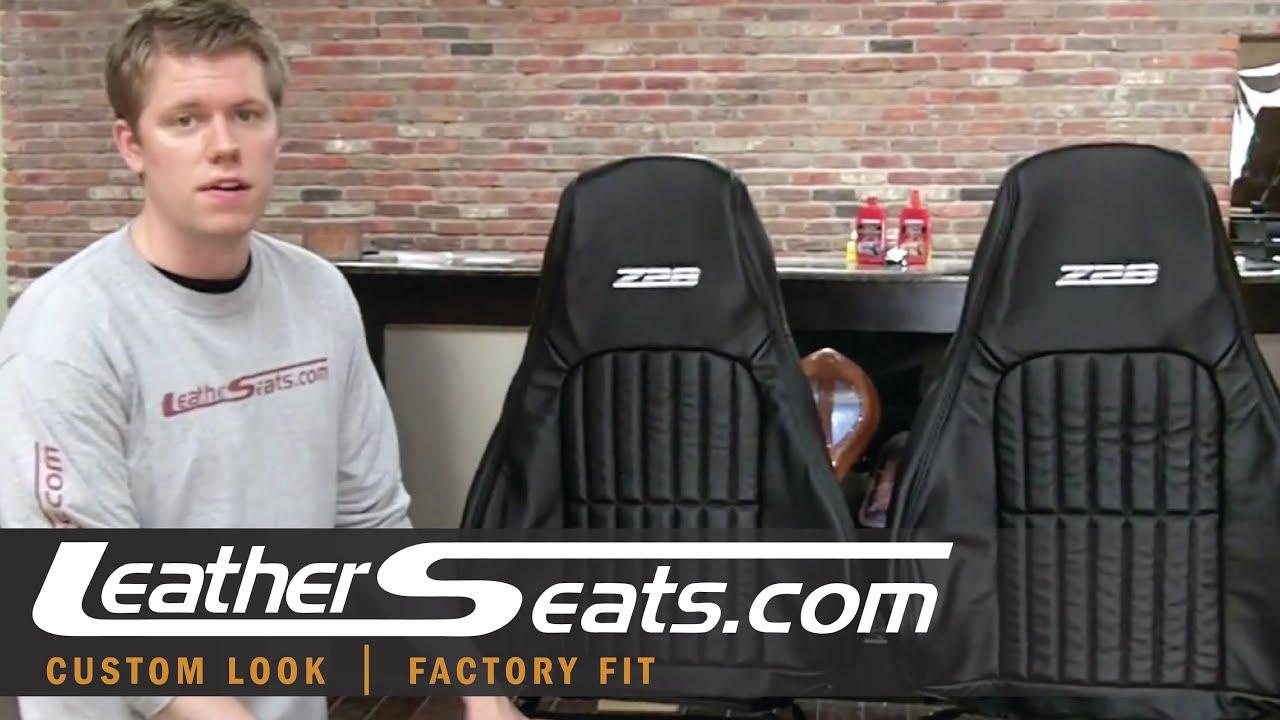 Chevrolet Camaro Custom Ecstasy Leather Interior