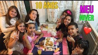 VLOG NO MEU ANIVERSARIO DE 10 ANOS !!!