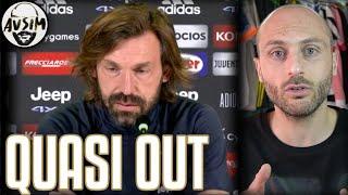 Pirlo ha capito che rischia l'esonero? ||| Avsim Zoom Udinese-Juventus
