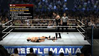 WWE 2K14 - 30 Years of Wrestlemania - Undertaker vs Batista Wrestlemania 23 (Xbox 360)