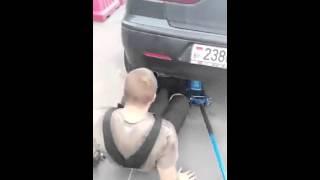Прикол с машиной