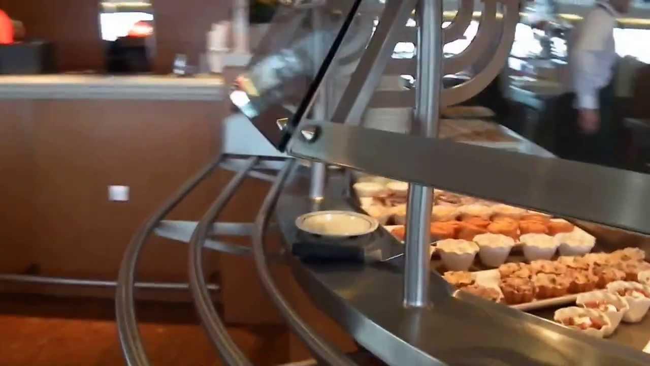 MSC Armonia La Brasserie Cafeteria Buffet Restaurant Tour