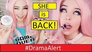 Belle Delphine RETURNS 2020!!! #DramaAlert DEJI SUES Kavos? - Hype House vs Clout House!