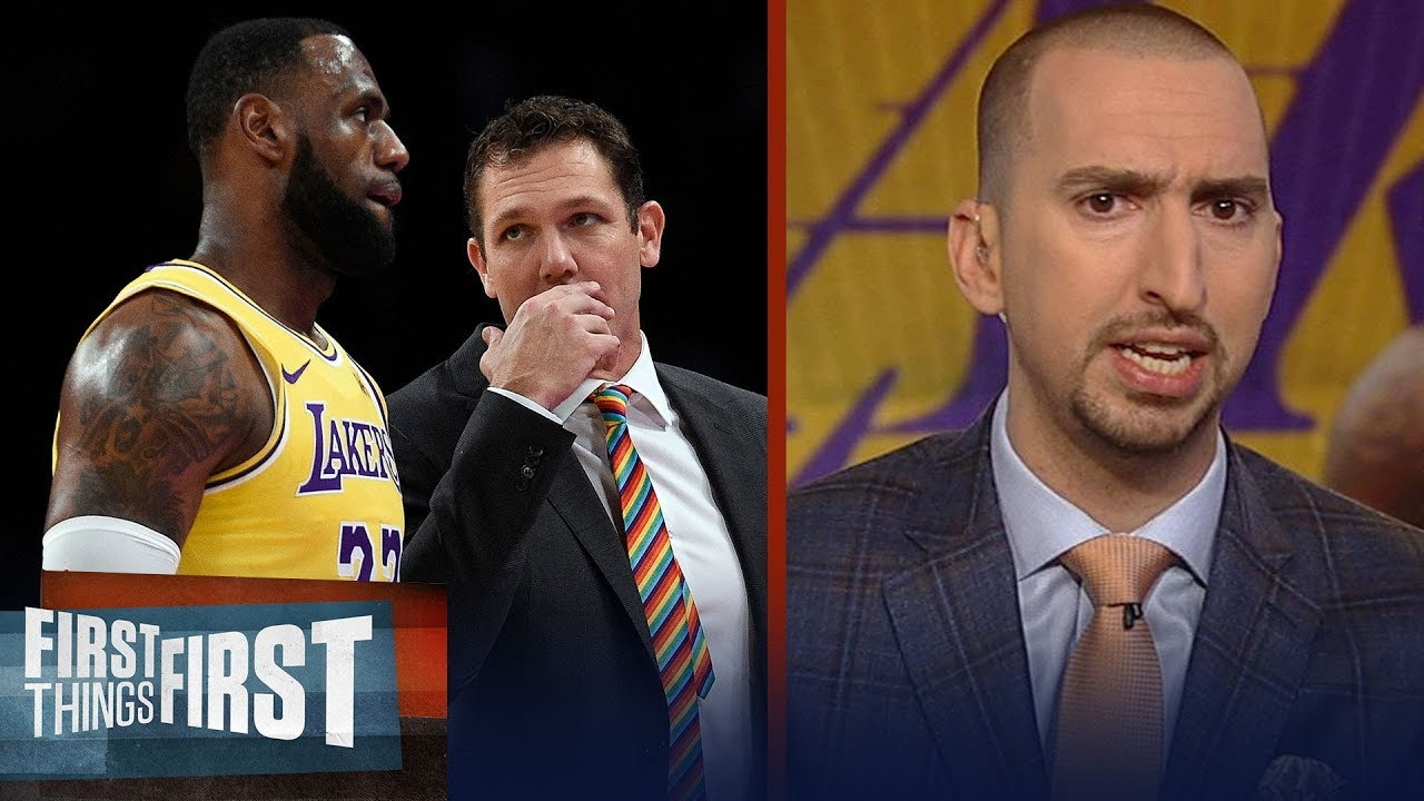 nick-wright-is-not-surprised-lebron-is-ignoring-luke-walton-s-play-calls-nba-first-things-first