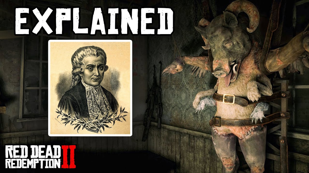Manmade Mutant Explained (Red Dead Redemption 2)