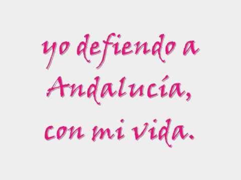 Andalucia  Pablo Alboran  letra