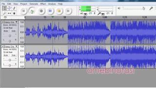 Membuang Suara Lagu Di MP3 Menggunakan Audacity