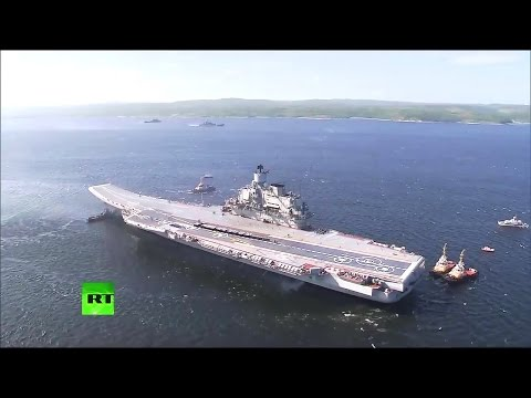RT - Russia Navy Day Parade 2014 : Full Military Assets, Dri