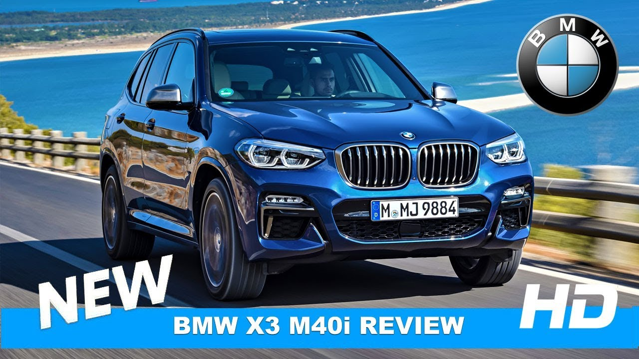 NEW! BMW X3 M40i xDrive REVIEW Test Drive - YouTube