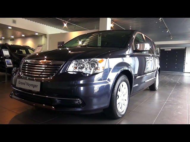 2015 Chrysler Grand Voyager. Limited. Обзор.
