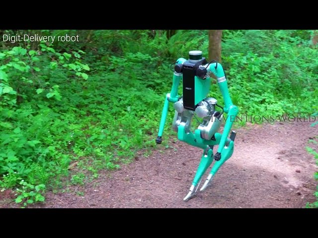 Digit Delivery Humanoid Robot By Fords With Agility Robotics - Will Change The World.