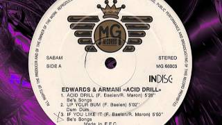 "EDWARDS & ARMANI  "" Acid Drill ""  1989"