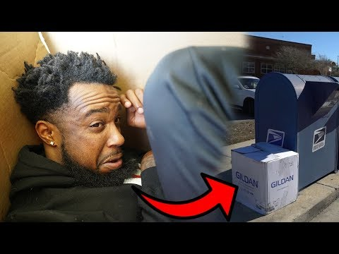 I MAILED MYSELF TO LEBRON JAMES | HUMAN MAIL CHALLENGE!