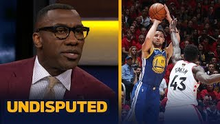 Skip Bayless and Shannon Sharpe discuss the Golden State Warriors winning Game 2 against the Toronto Raptors. Hear why Shannon credits the play of Klay ...