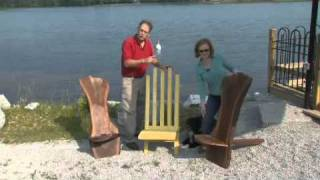 American Woodshop Season 18 - Outdoor Keyed Deck Chairs