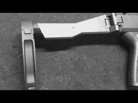 Gear Head Works Tailhook Pistol Brace on CZ Scorpion Evo
