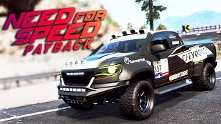 Need for Speed Payback UPDATE PL -  DAKARÓWKA CHEVROLET COLORADO ZR2 - 1440p
