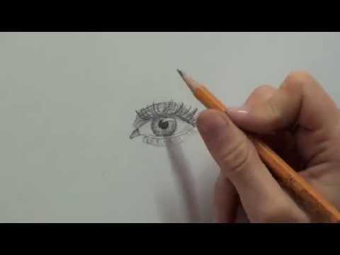 Jak Nakreslit Oko How To Draw A Realistic Eye Youtube