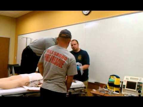 Mcc paramedics class in action