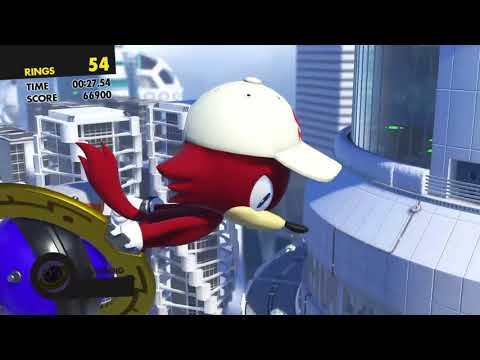 Sonic Forces Stage 16 - Metropolis - Capital City