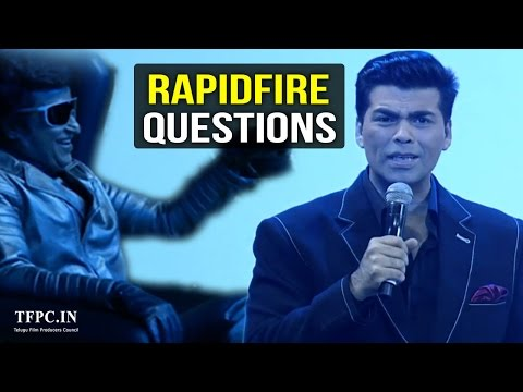 Karan Johar Rapid Fire Questions to Chitti Robo | Extraordinary Answers By Chitti | TFPC