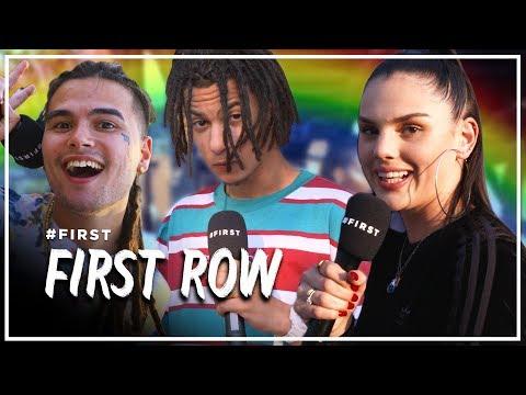Hoe grote fans zijn o.a. FAMKE LOUISE & JIRI11 van JACIN TRILL? #FIRST ROW