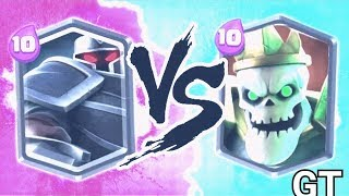 NEW! BLACK KNIGHT vs SKULL KING!! CLASH ROYALE ALTERNATIVE!!!!   NEW CASTLE CRUSH LEGENDARY!