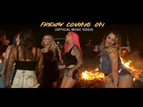 Смотреть клип Dusty Leigh X Brandon Hartt X Moonshine Bandits - Friday Coming On