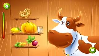 Развивающие игры для детей. Учим животных. Голоса животных. Мультики для детей. Ферма с животными.