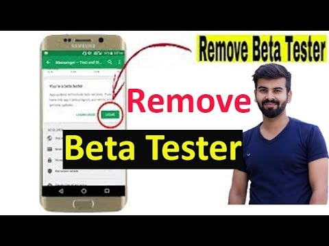 How To Remove BETA TESTER In Play Store