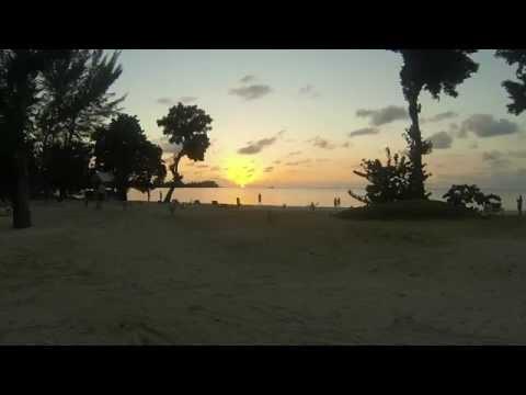 Beautiful Sunset on Bloody Bay Negril, Jamaica