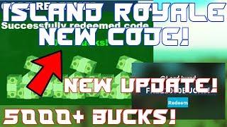 *old* Island Royale Codes | 5000 Free Bucks! | Island Royale New Update | Roblox