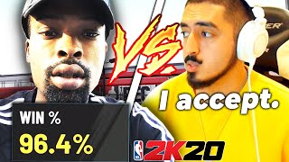 PoorBoySin challenged me for $400, and I ACCEPTED (NBA 2K20)