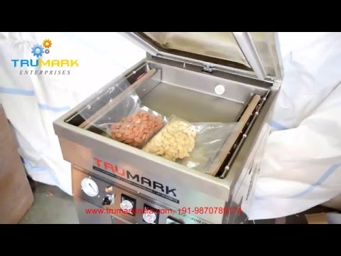 Vacuum Sealing Machine For Packing Dry Fruits Cashew Nut Almond