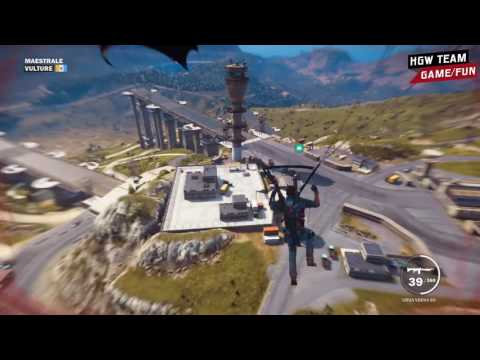Just Cause 3 Island worker