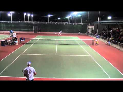 Stevie Johnson Vs. Bradley Klahn - Pro Exhibition Match at Arcadia Tennis Center
