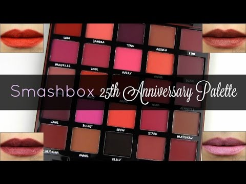 Be Legendary Matte Lipstick Palette by Smashbox #20