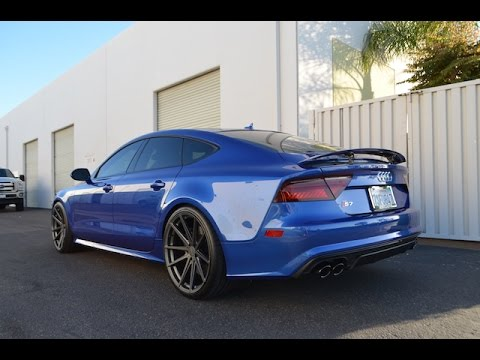 VR Tuned Audi S7 Review - YouTube