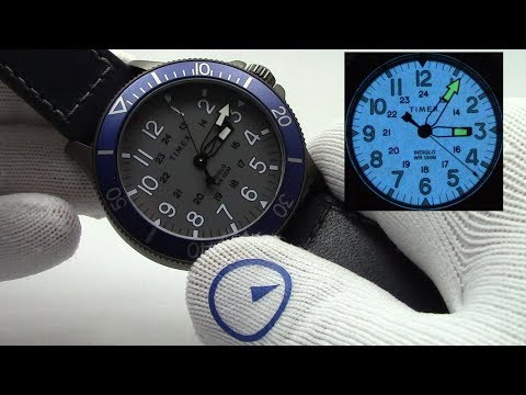 Timex Watches -  Allied Coastline Indiglo Divers Watch Review For Any Budget