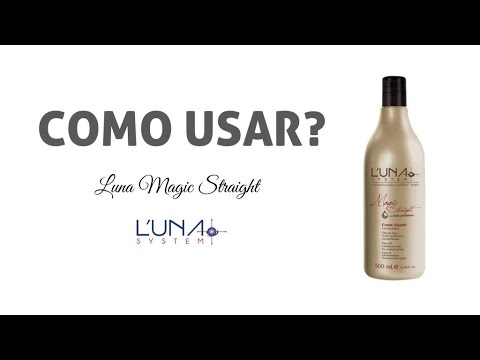 Como Usar a Progressiva Luna Magic Straight - Luna System