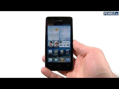 Huawei Ascend Y300 im PC-WELT-Test