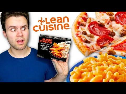 I ate ONLY Lean Cuisine meals for a WEEK... literally