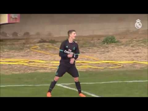 Miguel Baeza - Real Madrid (Juvenil/Youth A): Some Goals